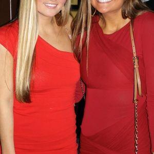 Dresses & Skirts - Red one shoulder Bandage Dress